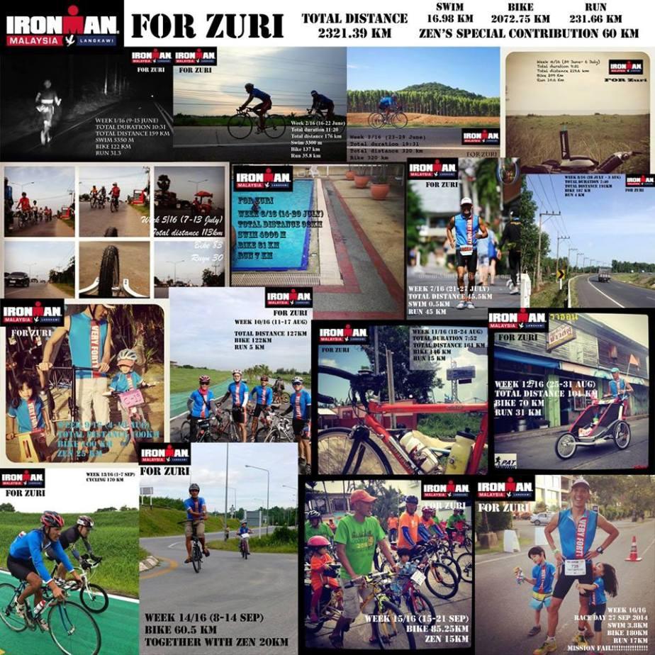 """Ironman Langkawi """"ForZuri"""""""