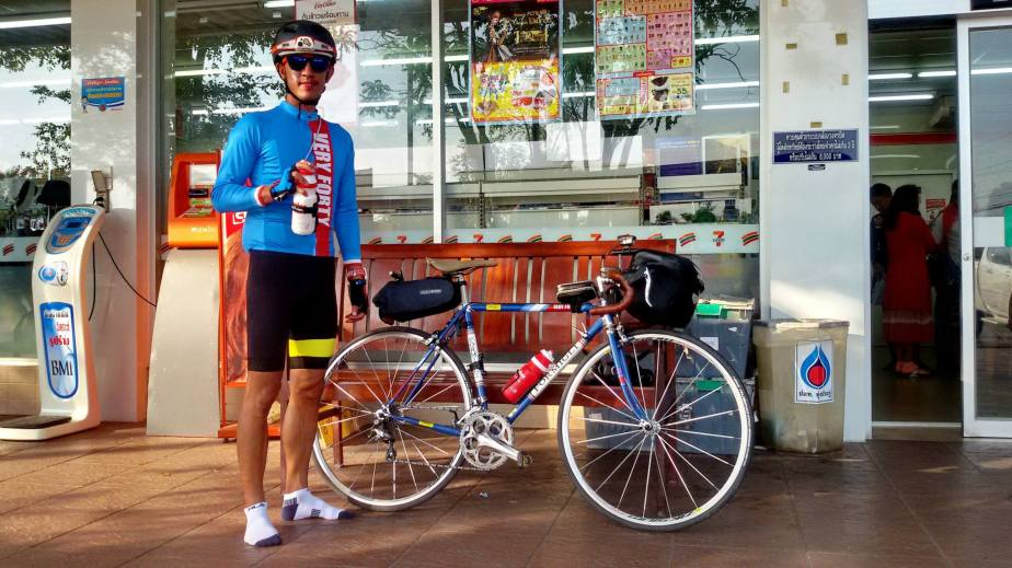 Grand Training Bkk-HDY and 300 km more.